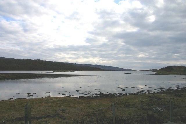 Linne Mhuirich south west of Tayvallich.