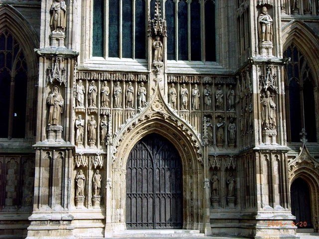 Gothic stone carvings of Beverley Minster