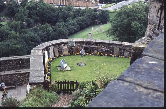 Soldiers' Dogs Cemetery, Edinburgh Castle