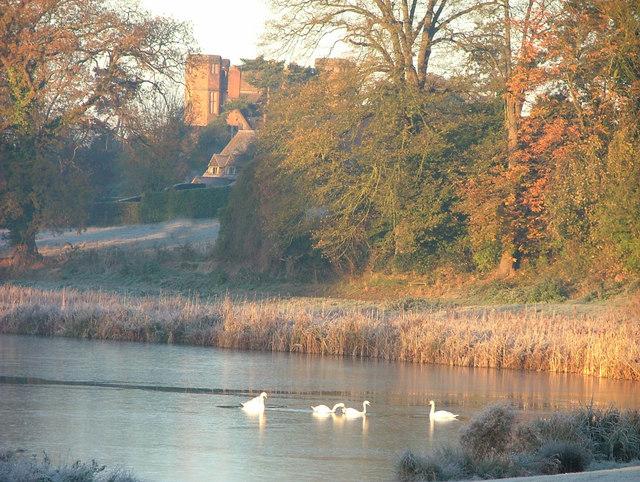 Kenilworth Castle from Abbey Fields