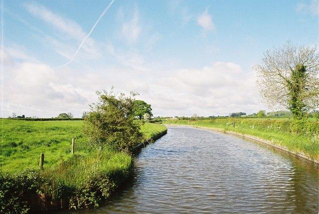 Llangollen Canal west of Ellesmere