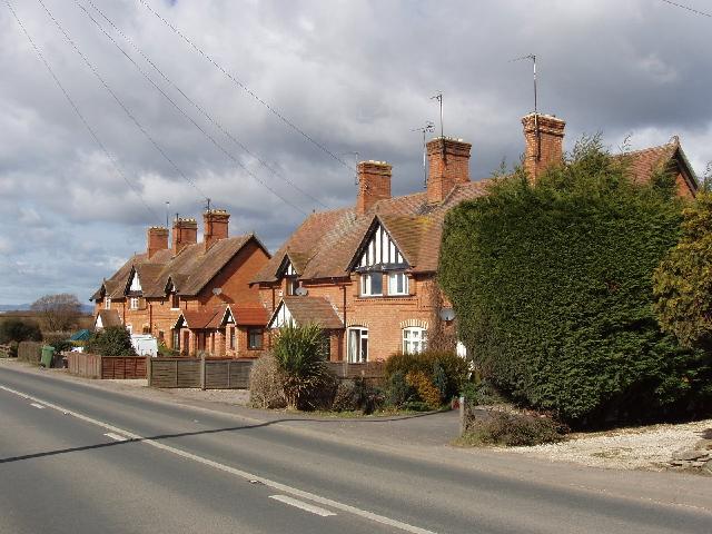 Houses by Alderton Fields