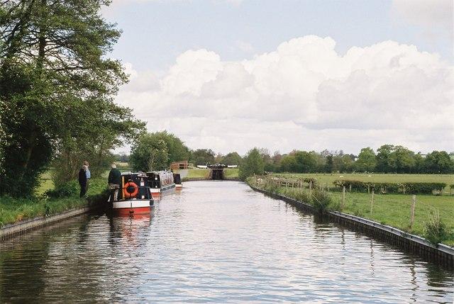 Llangollen Canal - New Marton Lower Lock
