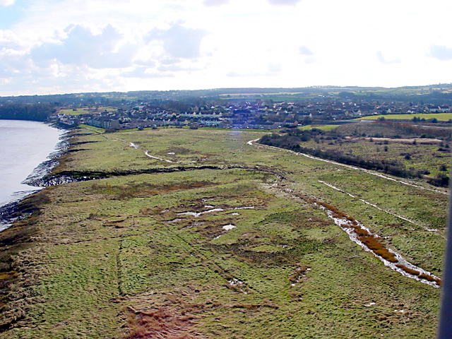 View towards Pill from the Avonmouth Bridge
