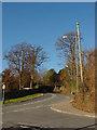 ST5477 : Looking up Kings Weston Lane by Linda Bailey