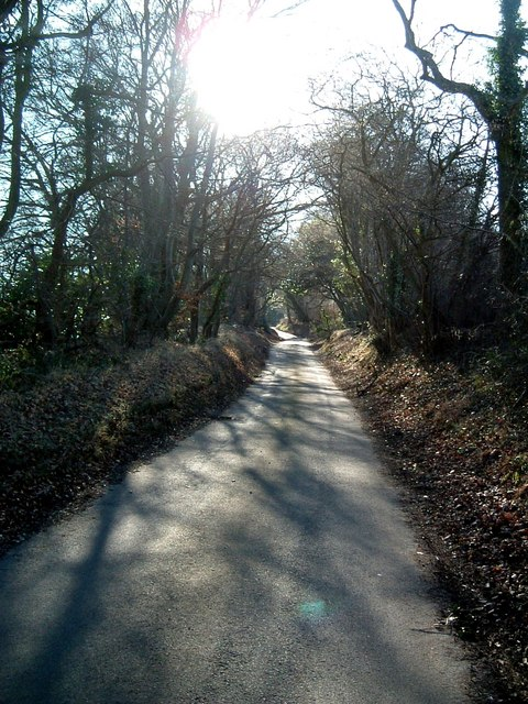 Rossway Lane, south of Tinker's Lodge