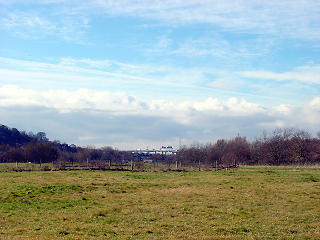 View towards Avonmouth Bridge