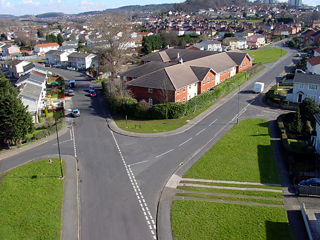 West Town Road from Avonmouth Bridge