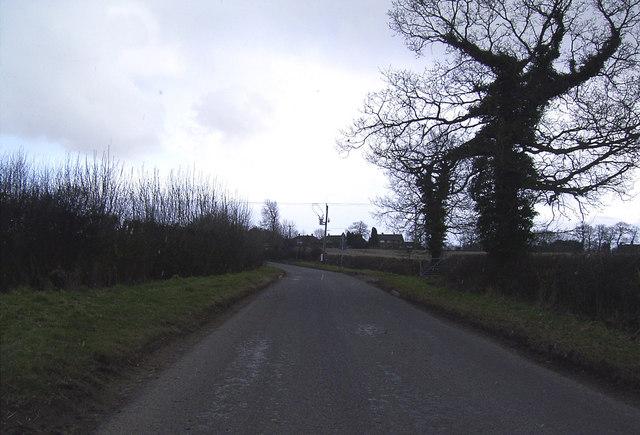 Approaching Odstone, Leics