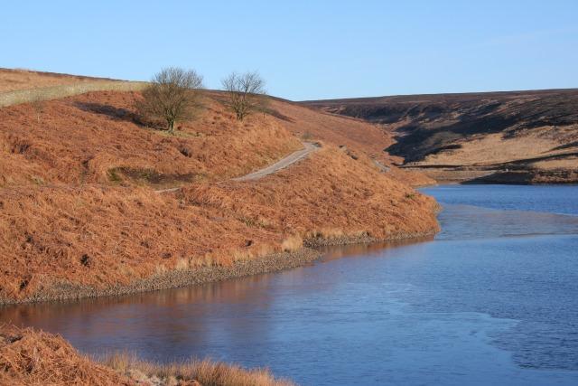Walshaw Dean Upper Reservoir