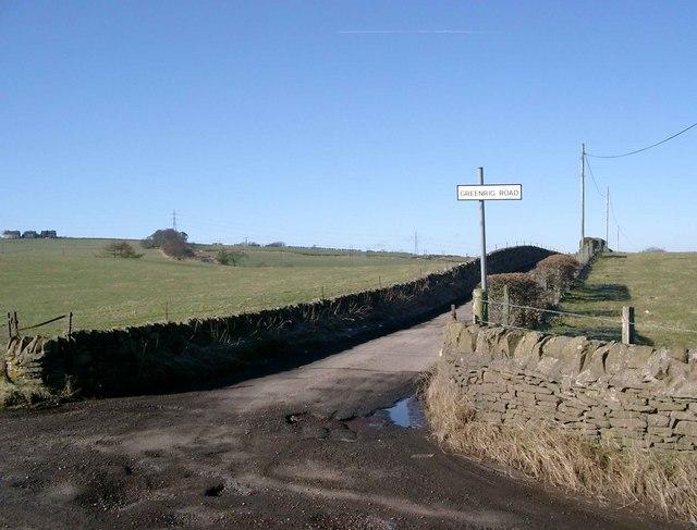 Greenrig Road-end