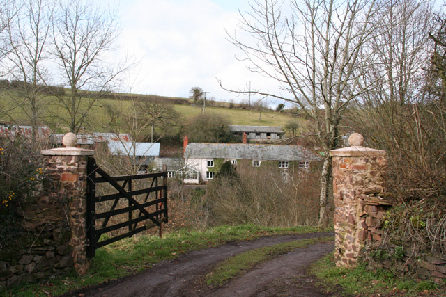 Poughill: entrance to Grantland