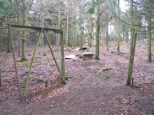 Pheasant Rearing Enclosure near Sadlers Farm