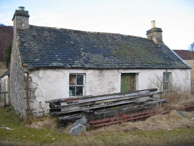 Old House at Dundreggan