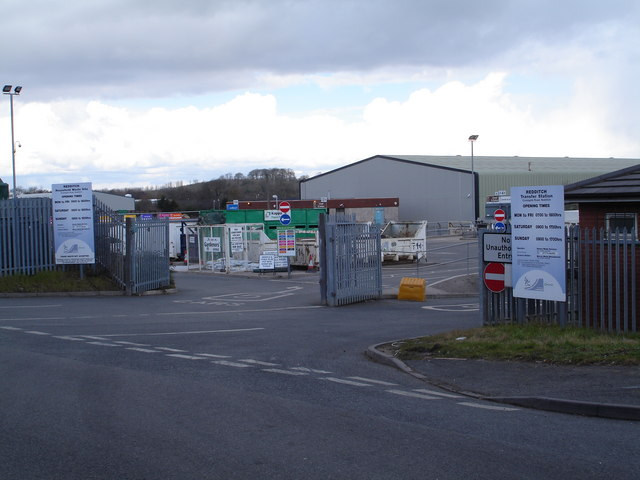Household Waste Disposal Site, Park Farm, Redditch