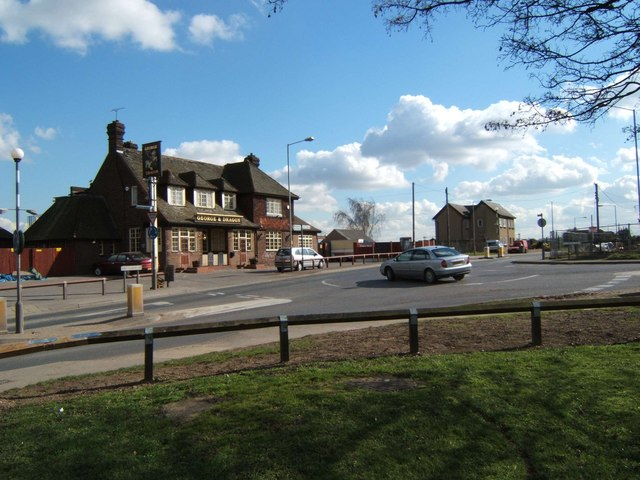 George & Dragon Junction, Linford