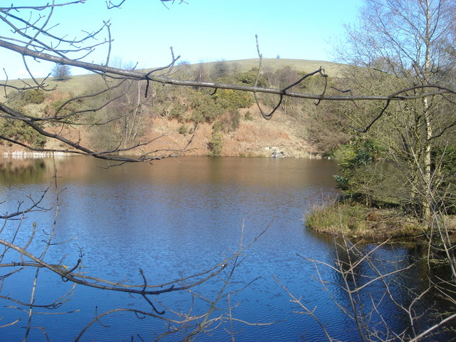 Reservoir on The Lowe, White Coppice