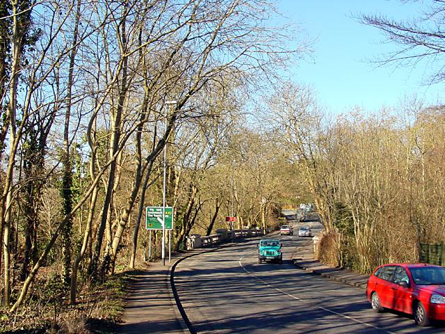 Looking along Dingle Road