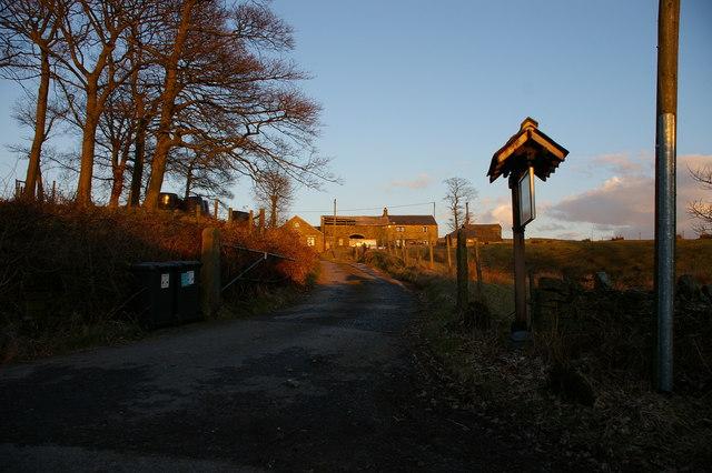 Hazel Clough Farm, Edgworth