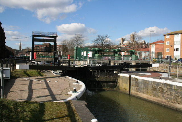Stamp End Lock