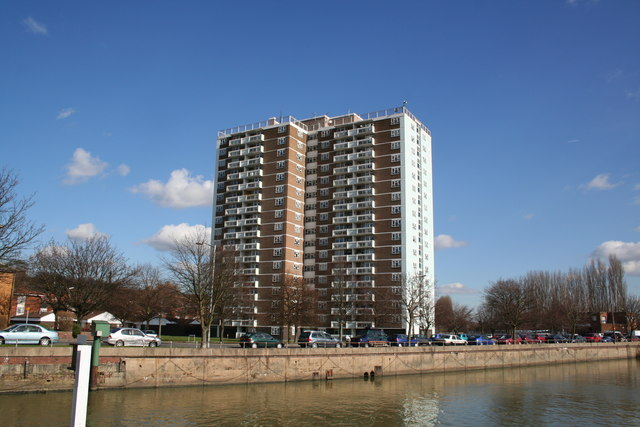Stamp End tower block