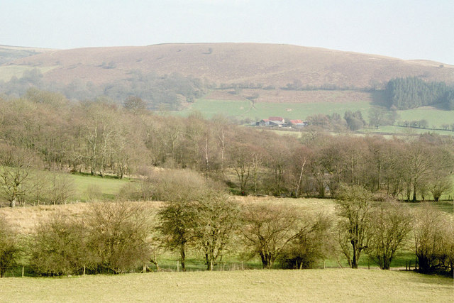 View near Llan Howell