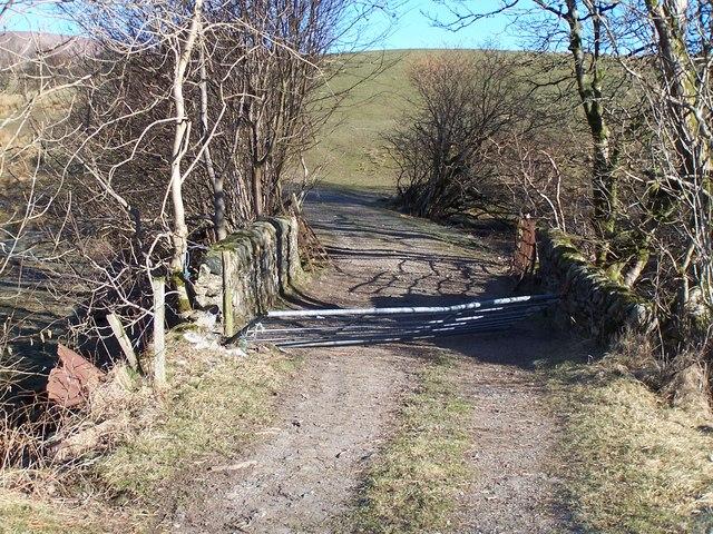 Glen Fruin, Bridge to East Kilbride Farm