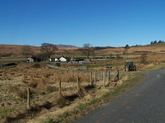 Glen Fruin, Auchengaich Farm