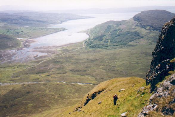 South east ridge of Belig, Skye.