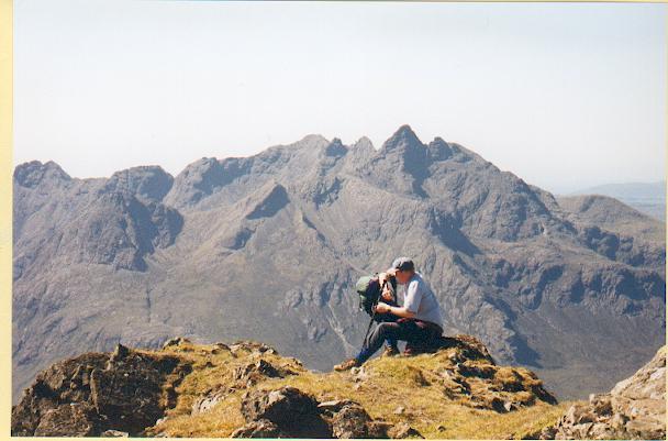 Summit of Garbh Bheinn, Skye.