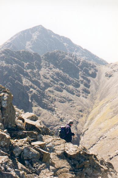 Descent to Bealach na Beiste