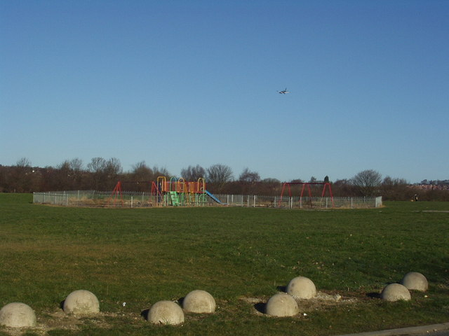 Playground by Cragside Walk, Hawksworth