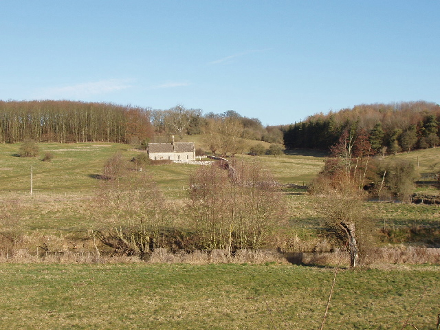 Widford deserted village and church