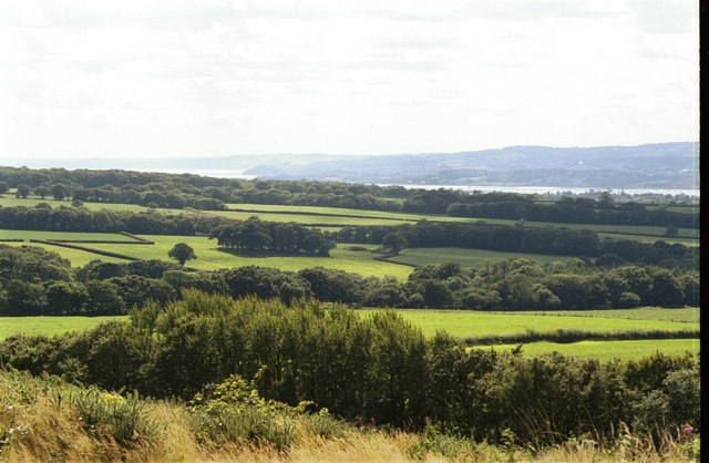 View SW from Woodbury Common