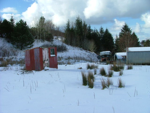 Shed in Sheader