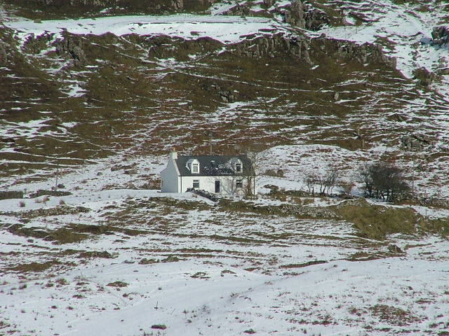Crofthouse in Glen Conon