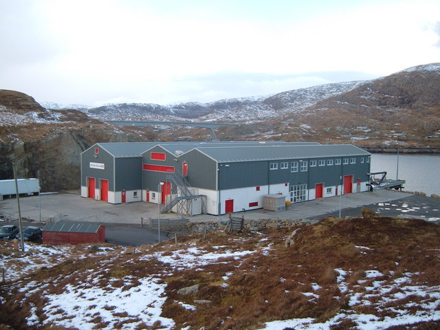 Scalpay Fish Processing Factory -now closed