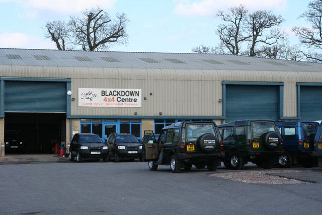 Kentisbeare: Blackdown 4x4 Centre