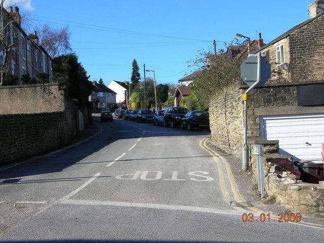 Lea Road, Dronfield near Sheffield.