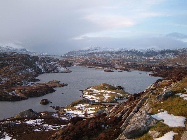 Loch an Duin looking West