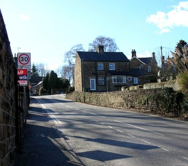 Hallowes Lane, Dronfield near Sheffield.
