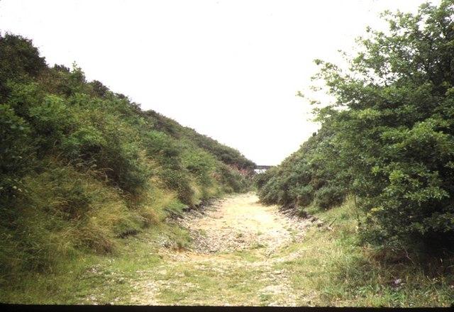 Old Railway,  Sidestrand 1973