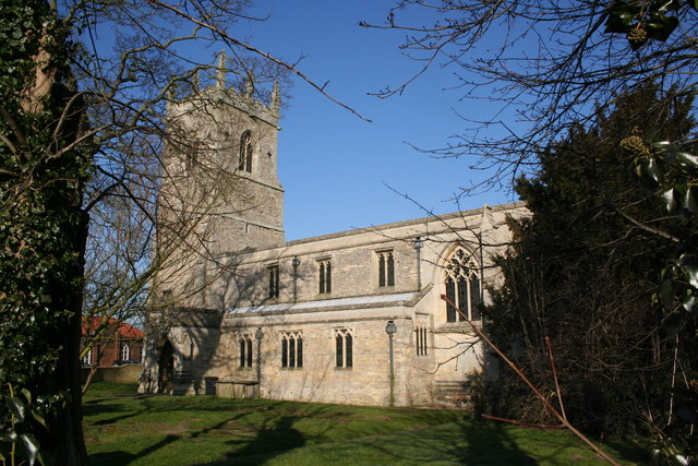 All Saints' church, Laughton, Lincs