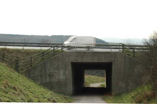 M1 underpass at Higham