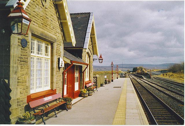 Ribblehead Station Platform.