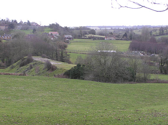 Old trackbed of Somerset & Dorset Railway, Cole