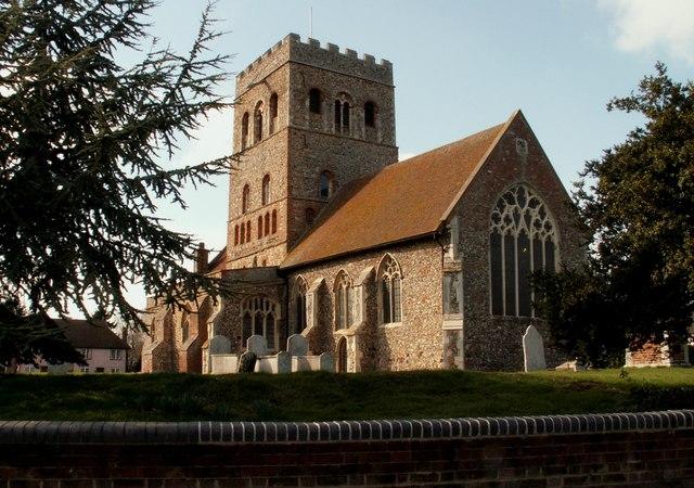 St. Barnabas church, Great Tey, Essex