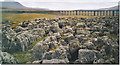 SD7679 : Limestone Pavement at Runscar Scar, Ribblehead. by Colin Smith