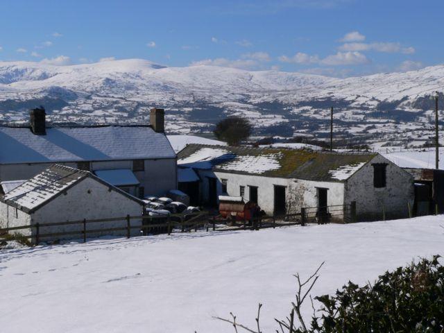 Topan Fawr, Eglwys Bach, Colwyn Bay.