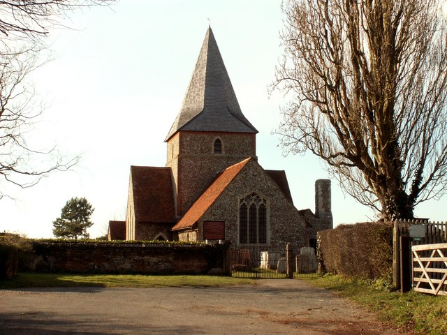 St. John's church, Mount Bures, Essex